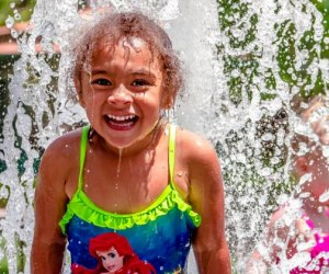 The Coolest Free Splash Pads and Spraygrounds in LA: Keep the temperature down.