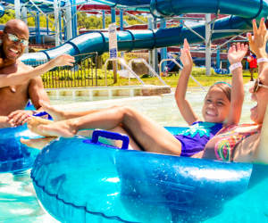 Cool down with the family this summer at Calverton's Splish Splash Water Park. Photo courtesy of the park