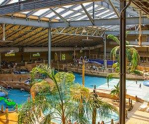 Split Rock resorts water park is always tropical-feeling