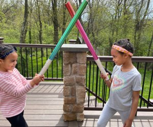 Young Jedi in the heat of battle.