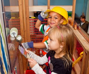 There's hands-on fun at the Stepping Stones Museum for Children. Photo courtesy of the museum