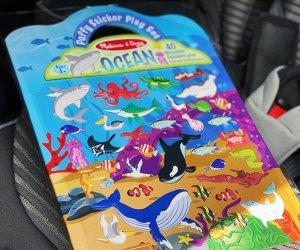 puffy sticker book
