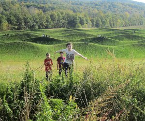 Storm King Art Center offers plenty of room to run and explore on a fall day trip