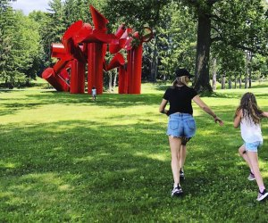 Storm King's towering pieces beg visitors to draw closer, but please don't touch! Photo courtesy of @jenterratravels