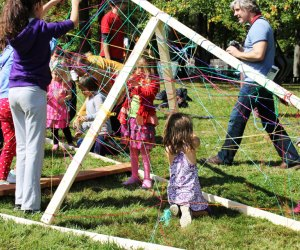 Kids' programming at Storm King Art Center fosters creativity and cooperation.