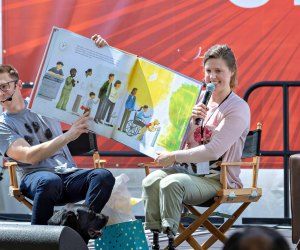 Listen to a great children's story at the festival. Photo courtesy of LA Times Festival of Books