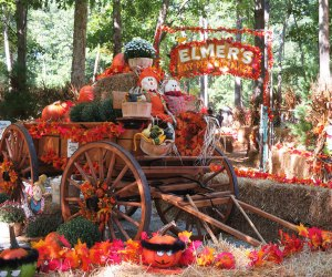 A hay maze, trick-or-treating, hayrides, and more are on the Halloween schedule at Storybook Land. Photo courtesy of Storybook Land