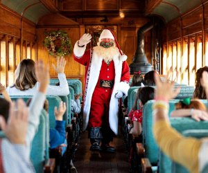 Take a ride on Santa's Paradise Express. Photo courtesy of Strasburg Rail Road