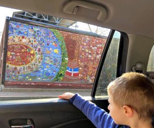 Take a drive-by street art tour. Photo courtesy of Parent Tours