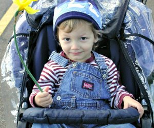 Stroller-friendly Hiking Trails for LA Parents To Hike with Toddlers: enjoying nature from the stroller