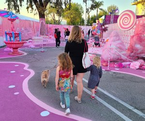 This saccharine-sweet walking experience is perfect for kiddos and canines.