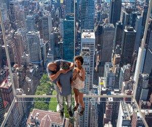 Summit One Vanderbilt's Levitation lets you step into a glass pod 1,000+ feet above Madison Avenue.