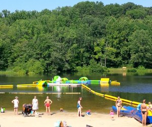 Sunrise Lake Beach Club is one of our favorite summer destinations. Photo courtesy of Morris County