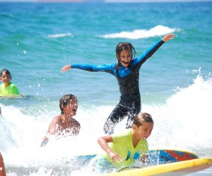 See surfers of all ages at the International Surf Festival. Photo courtesy of the festival