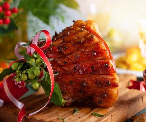 Get a gorgeous Christmas ham at Susan Lawrence Catering.