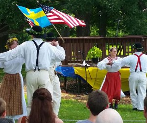 Swedish Day celebrates the traditions of Midsommar. Photo courtesy of the event