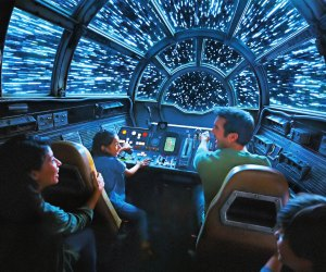 Millennium Falcon: Smugglers Run riders will take the controls as pilots, gunners or engineers. Photo courtesy of Disney Parks