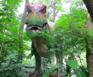 Look out for the T-Rex at the zoo this summer! Photo courtesy of Renee Gillett via Flickr