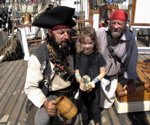 Meet the pirates and walk the decks (but not the plank!) at the Maritime Festival in Dana Point.