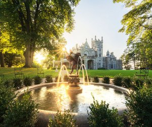 Explore the stunning grounds of Lyndhurst Mansion. Photo courtesy of the National Trust for Historic Preservation