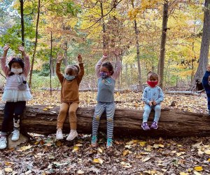 The Tenafly Nature Center invites kids to spend their spring break outdoors, exploring the grounds and trails. Photo courtesy of the center