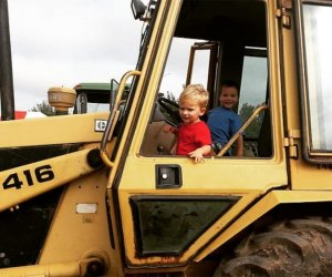Ride a big rig at Terhune Orchard's Apple Days Fall Festival. Photo courtesy of the orchard