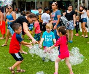 Back to School Splash Bash. Photo courtesy of Sugar Land Town Square
