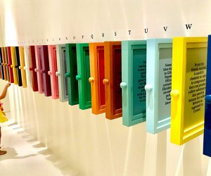 Find the perfect hue for you at The Color Factory. Photo by Janet Bloom