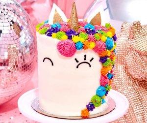 The Flour Shop unicorn birthday cake