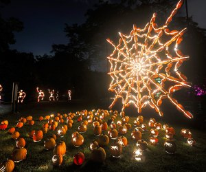 The Great Jack O' Lantern Blaze returns to Old Bethpage Restoration Village this fall. Photo courtesy of the village