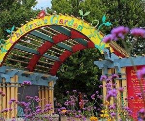 The Children's Garden at the Morton Arboretum has a musical springtime adventure!  Photo courtesy of the Arboreum