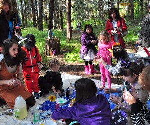 Enjoy a day of wonder at the Nassau County Museum of Art's Enchanted Forest Family Event. Photo courtesy of the museum