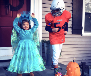 Don your best costume and enjoy trick-or-treating in Westchester. Photo by Meagan Newhart