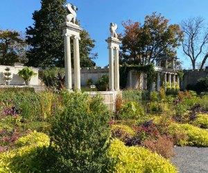 The walled garden at Untermyer garden