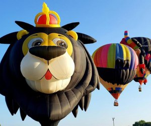The 29th Annual Hudson Valley Hot Air Balloon Festival is going to be hosted drive-in style at Tymor Park in Union Vale, New York. Photo courtesy of the festival