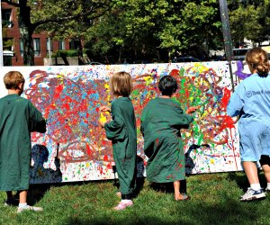 Paint the town! Photo courtesy of The Boston Arts Festival