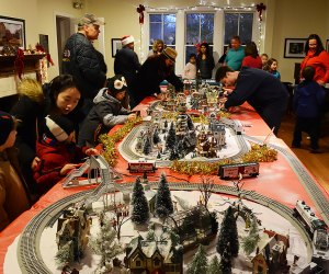 Enjoy Clark Botanic Garden's Winter Wonderland celebration. Photo courtesy of the garden