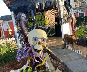 A haunted house, spooky train, funhouse maze, and more are all part of Halloween Village at The Milleridge Inn. Photo courtesy of the inn