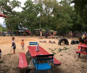 The playground at the Shack is one of our favorites!