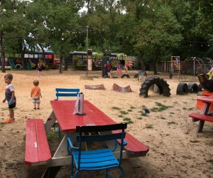 The playground at The Shack is one of our favorite Cypress spots.