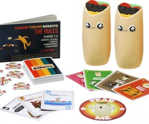 Card Games Every Kid Should Know: Throw Throw Burrito is from the makers of Exploding Kittens