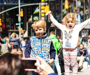 Hit Times Square for many kid-friendly experiences. Photo courtesy of NYCGo