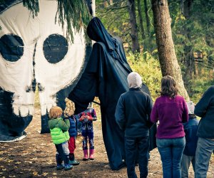 Take a spooky hike at Maudslay State Park. Photo courtesy of Theater in the Open