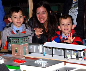Kids and adults will delight in TMB Model Train Club's classic show in Farmingdale. Photo courtesy of the TMB Model Train Club