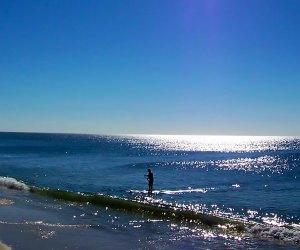 Tobay Beach in Massapequa boasts plenty of seaside fun. Photo courtesy of the Town of Oyster Bay