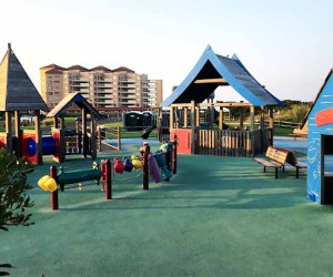 Tony's Place is an accessible beach-themed playground
