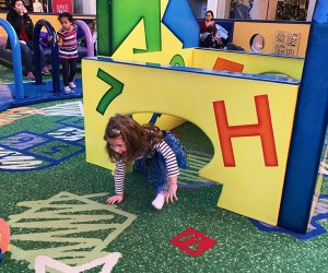 Tot Land at the Paramus Mall provides a fun (and free!) break from shopping. Photo by Rose Gordon Sala