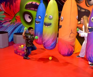 At Toys R' Us Adventure, the toys (and the fun) are larger than life. Photo courtesy of the event