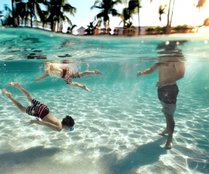 Go snorkeling in the stunning water at Tranquility Bay Resort. Photo courtesy of the resort
