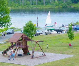Family Campgrounds near Boston with Extras for Kids: Tully Lake